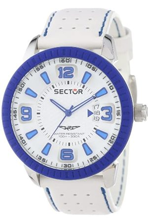 Sector Men's Quartz Watch with Dial Analogue Display and Leather Strap R3251119002
