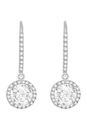 Carissima Gold Women's 9 ct Round Cubic Zirconia 9 x 26 mm Drop Earrings