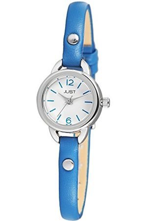 Just Watches Womens Analogue Watch with Leather Strap 48-S4064-BL