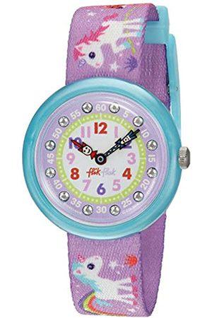 Flik Flak Girls' Analogue Quartz Watch with Textile Bracelet – FBNP033