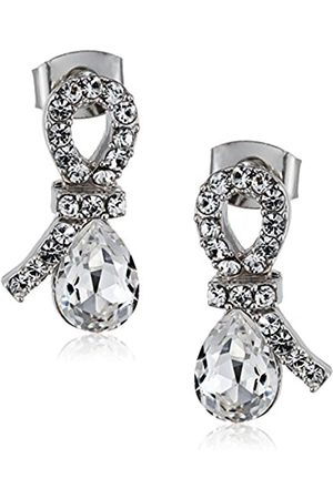 LOVE Affaire Women's Stud Earrings Rhodium-Plated Brass 20–1 1000–17