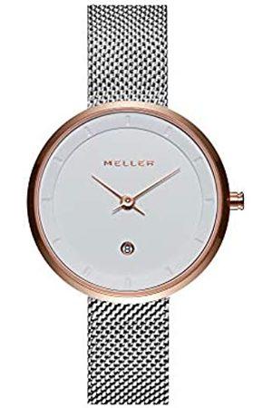 Meller Unisex Adult Analogue Quartz Watch with Stainless Steel Strap W5NN-2BLACK