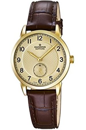 Candino Women's Quartz Watch with Dial Analogue Display and Leather Strap C4594/3