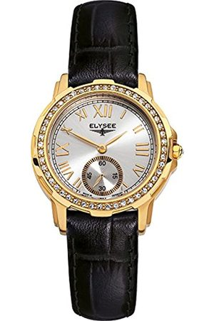 ELYSEE Unisex Adult Analogue Quartz Watch with Leather Strap 22004