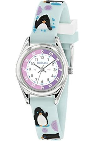 Tikkers Unisex Child Analogue Classic Quartz Watch with Silicone Strap TK0182