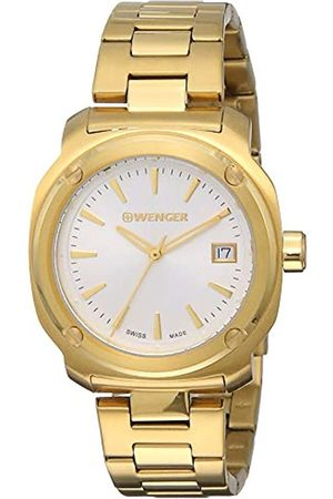 Wenger Women's Analogue Quartz Watch with Stainless Steel Strap 01.1121.107