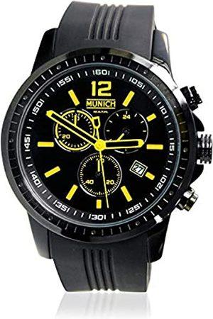 Munich Unisex Adult Analogue Quartz Watch with Silicone Strap MU+102.9A