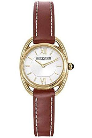 Saint Honore Women's Analogue Quartz Watch with Leather Strap 7210263AIT-BR