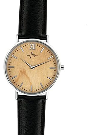 Andreas Osten Unisex-Adult Analogue Classic Quartz Watch with Leather Strap AO-171