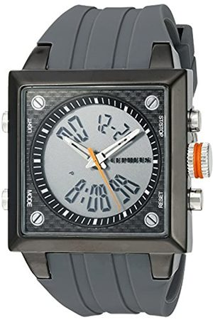 CEPHEUS Men's Quartz Watch with Dial Analogue - Digital Display and Silicone Strap CP900-622B