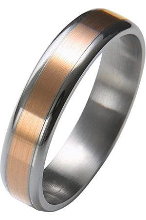 Trauringe Liebe hoch zwei Liebe² 0506001040S268 Unisex Wedding Ring Stainless Steel Size 68 / Z