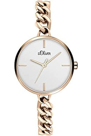 s.Oliver Quartz Watch with Stainless Steel Strap SO-3986-MQ