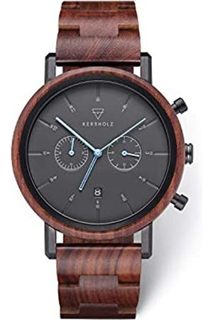 Kerbholz Unisex Adult Analogue Quartz Watch with Wood Strap WATWJOH9139