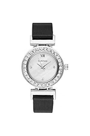 Jean Bellecour Unisex-Adult Analogue Classic Quartz Watch with Leather Strap REDL3