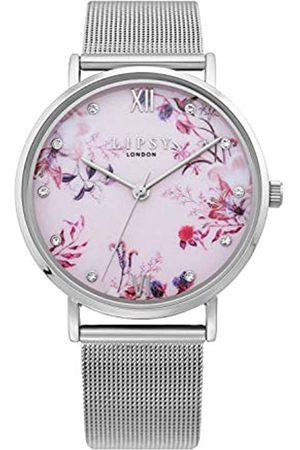 Lipsy London Womens Analogue Classic Quartz Watch with PU Strap LP643