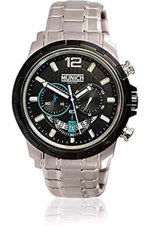 Munich Unisex Adult Analogue Quartz Watch with Stainless Steel Strap MU+105.1B