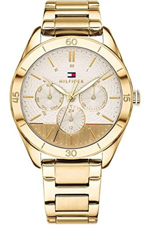 Tommy Hilfiger Unisex-Adult Multi dial Quartz Watch with Stainless Steel Strap 1781883