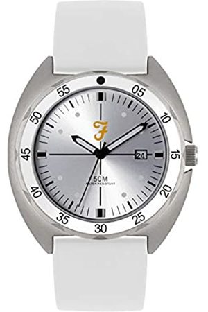 Farah Unisex Adult Analogue Classic Quartz Watch with Silicone Strap FAR2015