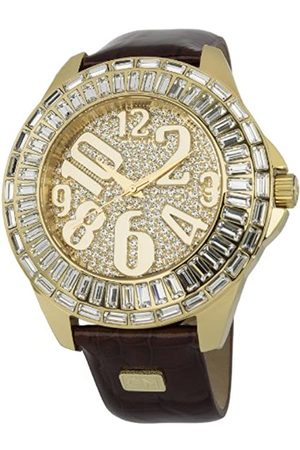 Carlo Monti Andria Women's Quartz Watch with Dial Analogue Display and Leather Strap CMY01-275