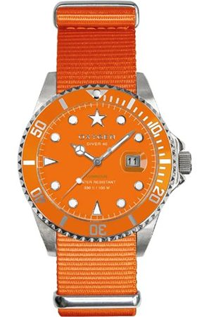 Oxygen Sea Star 40 Unisex Quartz Watch with Dial Analogue Display and Nylon Strap EX-D-SEA-40-OR