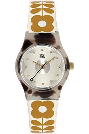 Orla Kiely Women's Analogue Analog Quartz Watch with Plastic Strap OK2332