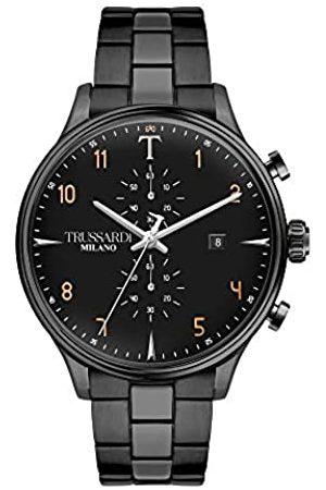 Trussardi Mens Analogue Quartz Watch with Stainless Steel Strap R2473630001