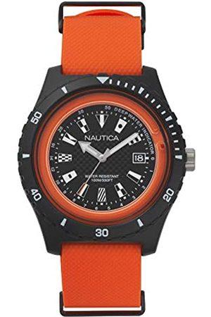 Nautica Mens Analogue Quartz Watch with Rubber Strap NAPSRF003