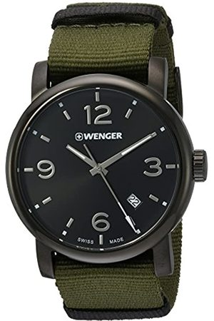 Wenger Men's Analogue Quartz Watch with Nylon Strap 01.1041.130