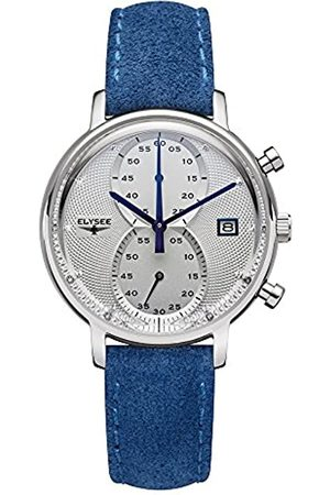 ELYSEE Unisex Adult Analogue Quartz Watch with Leather Strap 83823