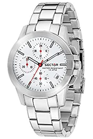 Sector Womens Chronograph Quartz Watch with Stainless Steel Strap R3273797502