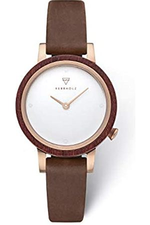 Kerbholz Women's Analogue Quartz Watch with Leather Strap WATWLUI3946