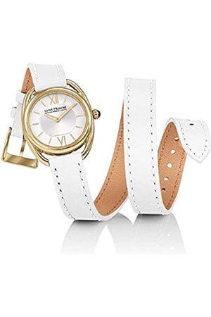 Saint Honore Women's Analogue Quartz Watch with Leather Strap 7215263AIT-W