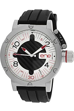 Eñe Men's Analogue Quartz Watch with Rubber Strap 11463