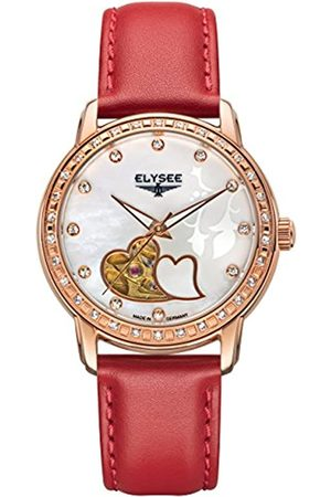 ELYSEE Unisex Adult Analogue Automatic Watch with Leather Strap 11002