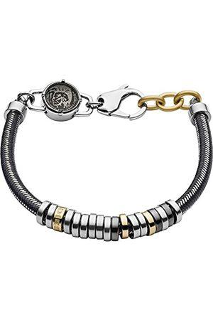 Diesel Men Stainless Steel Rope Bracelet - DX1185040