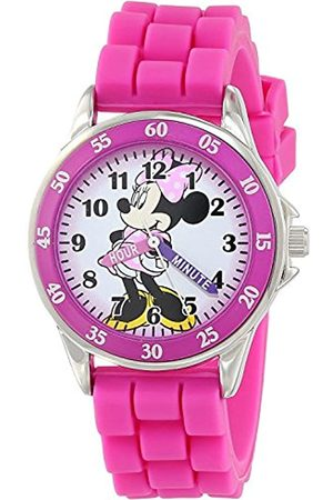 Disney Minnie Mouse Unisex Child Analogue Classic Quartz Watch with Rubber Strap MN1157