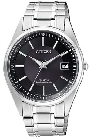 Citizen Men's Analogue Solar Powered Watch with Stainless Steel Strap AS2050-87E