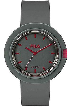 Fila Unisex Adult Analogue Quartz Watch with Silicone Strap 38-109-005