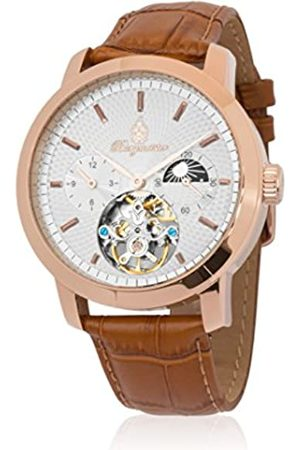 Burgmeister Men's Analogue Automatic Watch with Leather Strap BM225-315