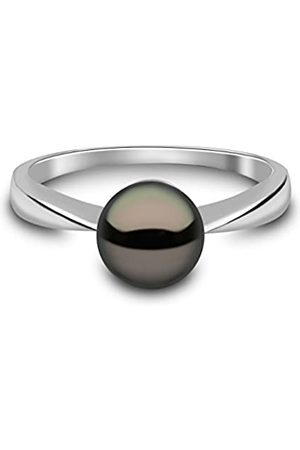 Kimura Kimura 7 mm Cultured Freshwater Pearl Ring 9 ct Yellow Gold Size N
