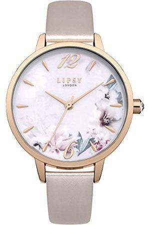 Lipsy London Womens Analogue Classic Quartz Watch with PU Strap LP547