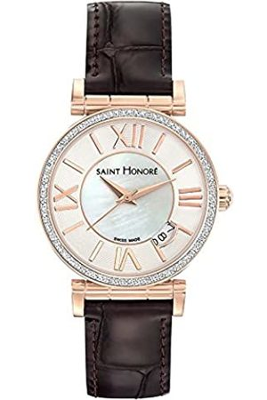 Saint Honore Women's Analogue Quartz Watch with Leather Strap 7520128YRR