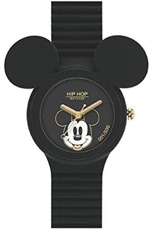 Hip Girl's Quartz Watch with Silicone Strap with Mickey Mouse Ears HWU0931