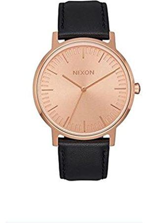 Nixon Men's Analogue Quartz Watch with Leather Strap A1058-1932-00