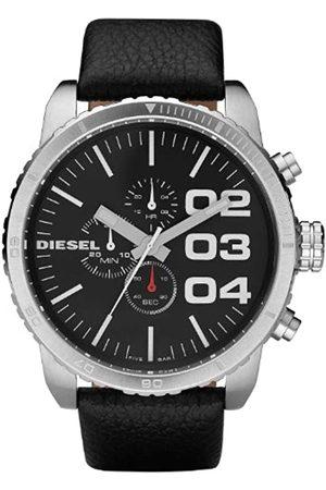 Diesel Men's Chronograph Quartz Watch with Leather Strap DZ4208