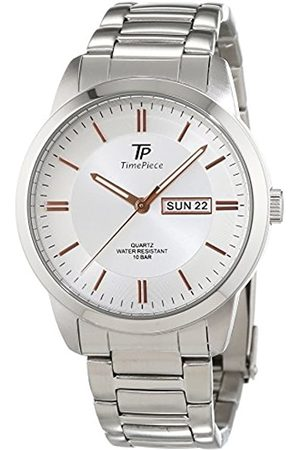 Time Piece Men's Quartz Watch Analogue Display and Stainless Steel Strap TPGS-30306-41M