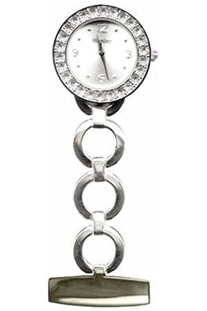 Henley Polished Chrome Crystal fob Watch