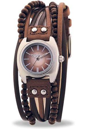 Kahuna KLS-0083L Ladies Beaded Multi Thong Watch