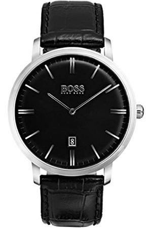 HUGO BOSS Tradition Mens Quartz Analogue Classic Leather Strap 1513460