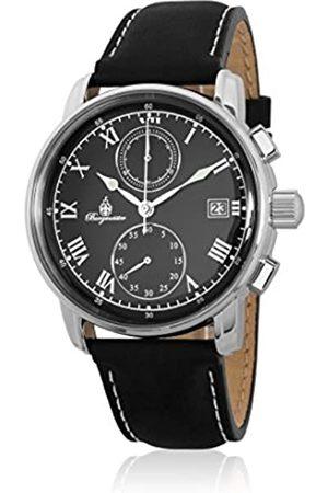 Burgmeister Men's Chronograph Quartz Watch with Leather Strap BM334-122